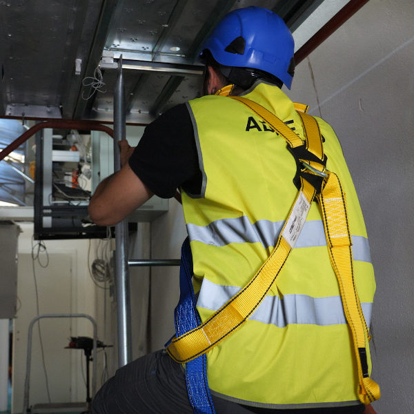ADVANCED ACCESS CONTROL TO SCAFFOLDING CLIMBING